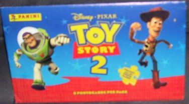 Panini Disney Toy Story 2 - 6 Photocards Pack NEW!