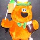 "HEATHCLIFF The Cat IRISH 14"" Plush in Top Hat Holding a Drink RARE!!"