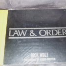 LAW & ORDER Crime Scenes Book NEW! Hardcover SEALED IN PLASTIC!