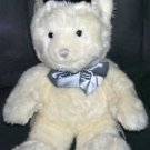 Russ Berrie A BEARY SPECIAL LOVE GROOM Teddy Bear w/TOP HAT BOWTIE Plush