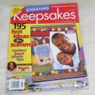 CREATING KEEPSAKES Magazine June, 2004 LIKE NEW!