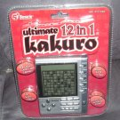 ULTIMATE 12 IN 1 KAKURO Electronic Handheld Game NEW!