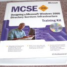 MCSE EXAM 70-219 DESIGNING A WINDOWS 2000 DIRECTORY SERVICES INFRASTRUCTURE TRAIN KIT NEW! w/CDROM