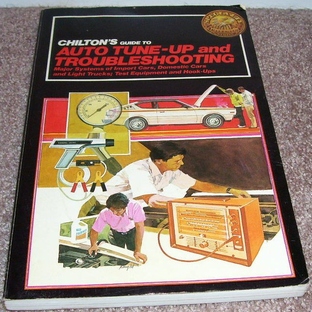 CHILTON'S GUIDE TO AUTO TUNE-UP AND TROUBLESHOOTING Book 1983
