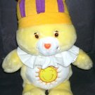 "Care Bears KING FUNSHINE Singing Bear Plush 15"" From 2004"
