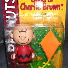 Peanuts CHARLIE BROWN Figure in Red Shirt with Accessories NEW! 2002