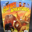 SAFARI ADVENTURES - AFRICA WWF PC Game NEW! 2004