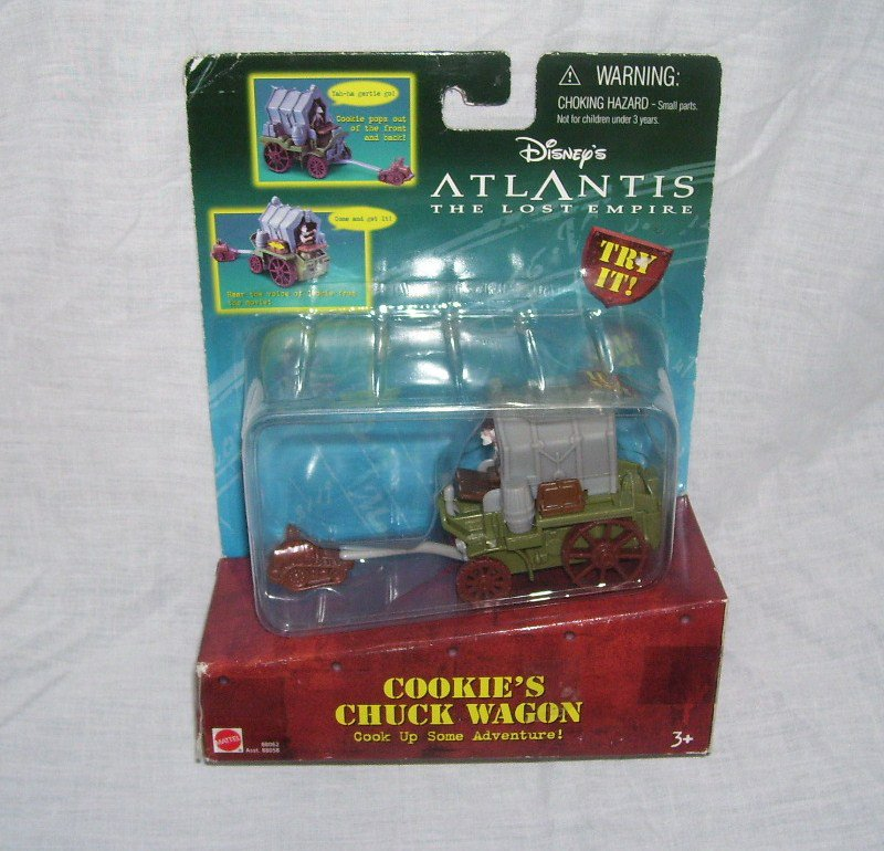 Disney ATLANTIS The Lost Empire COOKIE'S CHUCK WAGON NEW! 2000