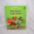 Jim Henson's Muppets WIN SOME, LOSE SOME Sportsmanship Book 1993 H/C