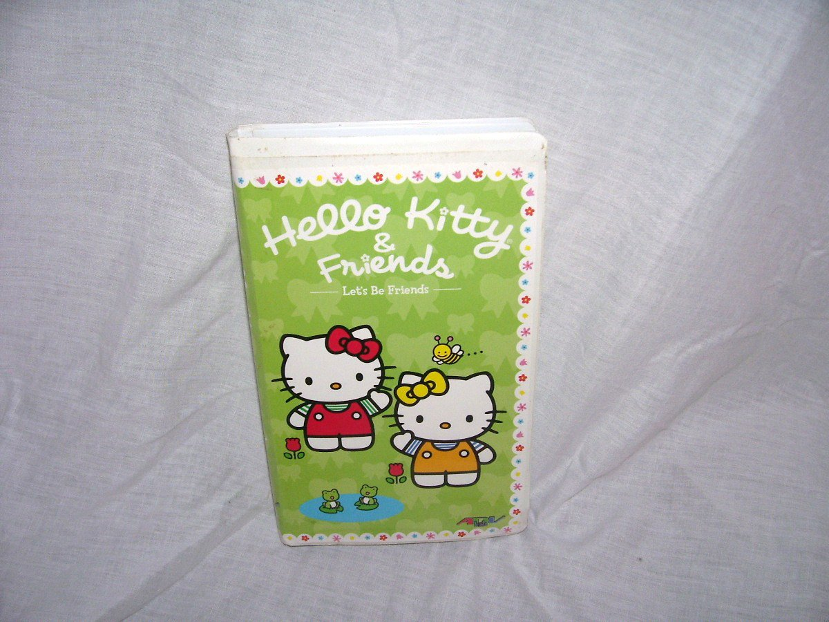 Hello Kitty & Friends LET'S BE FRIENDS VHS Video VOLUME 4 From 2004
