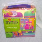 Groovy Girls Minis DANCE 'N STYLE Doll House Playset NEW! 2005