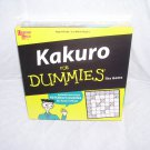 KAKURO FOR DUMMIES THE GAME ~BRAND NEW!~ 40+ PUZZLES!