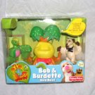 Fisher Price It's A Big Big World Bob & Burdette BIRD NEST Playset NEW! 2007
