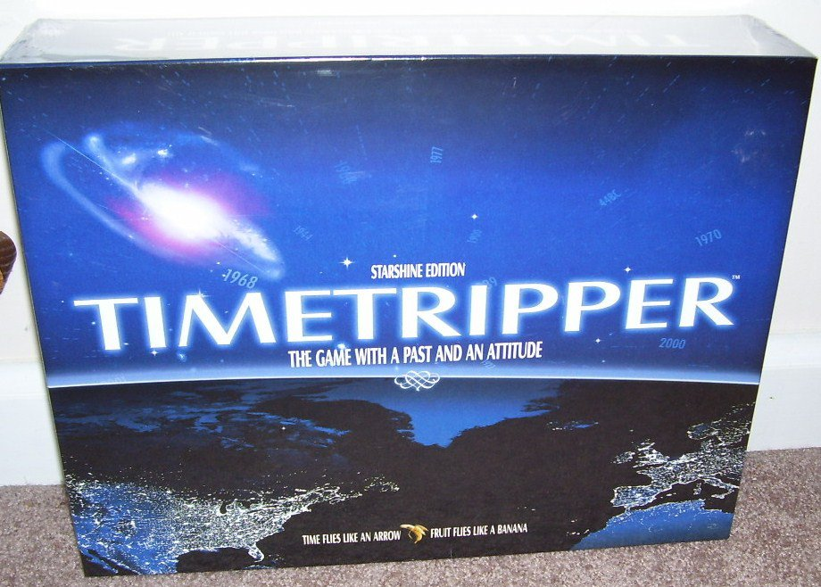 TIME TRIPPER Trivia Board Game BRAND NEW! RARE 2004