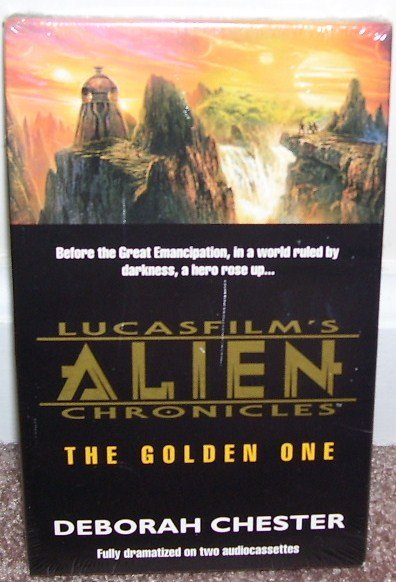 LUCASFILM'S ALIEN CHRONICLES THE GOLDEN ONE AUDIO BOOK NEW!