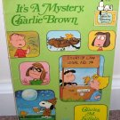 IT'S A MYSTERY CHARLIE BROWN Graphic Comic Book Novel 1975 VG COND! HTF