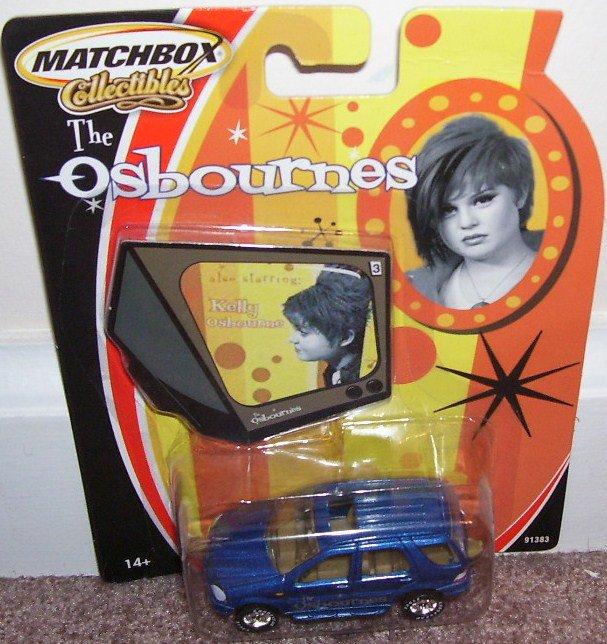 Matchbox Collectibles THE OSBOURNES * KELLY * MERCEDES BENZ ML 430 NEW!