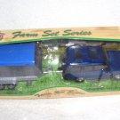 Motor Max Farmland DIECAST HORSE BOX TRAILER NIB HTF! ITEM NO. 76702B