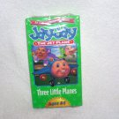 Jay Jay the Jet Plane THREE LITTLE PLANES VHS Video NEW! From 2000