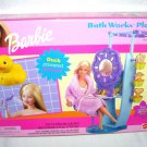 Barbie BATH WORKS PLAYSET w/Duck Powered Shower NEW! 2000
