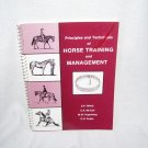 Principles and Techniques of HORSE TRAINING AND MANAGEMENT Manual Spiralbound 1986