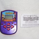 HANGMAN Electronic Handheld Game 2002 w/INSTRUCTIONS