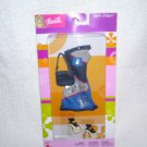 Barbie Beat Street DENIM Dress Fashion Outfit with Purse and Shoes 2003
