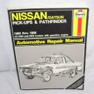 Haynes NISSAN/DATSUN Pick-Ups & Pathfinder 1980-1988 Automotive Repair Manual