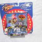 Winner's Circle KEVIN HARVICK #29 Diecast Car 1:43 Scale w/TAZ Monte Carlo 400 Rematch NEW!