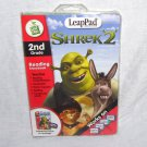 LeapPad SHREK 2 Interactive Book & Cartridge 2ND GRADE LIKE NEW!