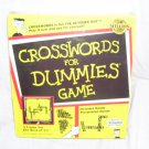 CROSSWORDS FOR DUMMIES Board Game NEW! 1998