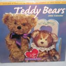 Teddy Bears 2002 Collector 16 Month Wall Calendar NEW!