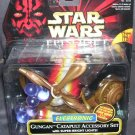 Star Wars Episode 1 Electronic GUNGAN CATAPULT ACCESSORY SET NEW! w/Lights