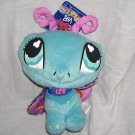 Littlest Pet Shop VIPs BUTTERFLY Plush w/Tag From 2007