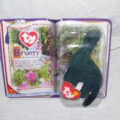 Ty BRONTY The Brontosaurus Teenie Beanie Baby NEW! From 2000