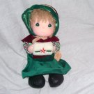 "Vintage Precious Moments DECEMBER, 1988 Doll of the Month 11"" Cloth Doll by Applause"