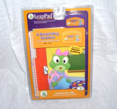 LeapPad A SURPRISING TEACHER Book & Cartridge PRE-K - 2nd Grade NEW!