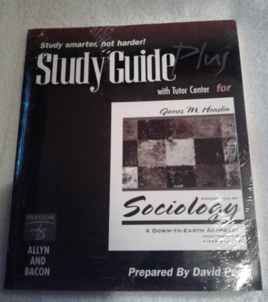 Essentials of Sociology STUDY GUIDE PLUS Fifth Edition by Pearson NEW! w/CODE