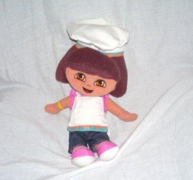 """Fisher Price Dora the Explorer 13"""" BAKER Plush Doll 2005"""