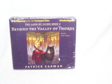 Beyond The Valley of Thorns - The Land of Elyon Book 2 Audio CDs Book NEW! Unabridged