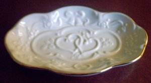 Lenox Wedding Promises Collection Ring/Coin Tray