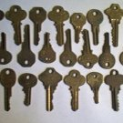 23 Vintage Keys- National & ColeNational- All Sizes
