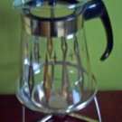 Vintage Pyrex 8 Cup Carafe & Candle Warmer with Box