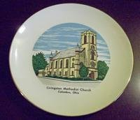 1960's Livingston Methodist Church Plate