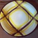 "Vernon Kilns California Organdie 12"" Chop Plate Vintage"