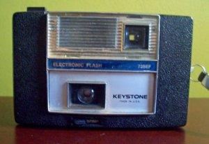 Vintage Keystone 725EF Instant Camera with Flash