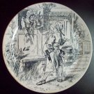 Decorative Plate Les Chansons Populaire de France