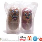 Kellogg&#39;s Disney Movie Wobblers 2005 Cereal Promo Lot Lion King TIMON #45 and Chip & Dale CHIP #10
