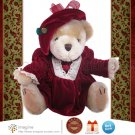 Pickford Bears Brass Button Collectables PEARL Bear of Wealth Plush Teddy Christmas Collectible