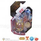 Rare Star Wars Ultimate Galactic Hunt UGH 2007 R2-D2 / R2D2 w/Gold Collector Coin MOMC
